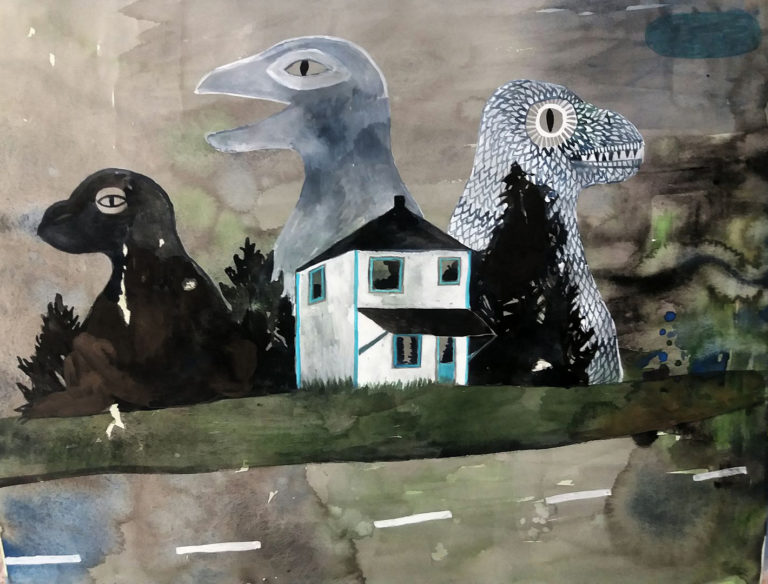 painting Anneli Furmark